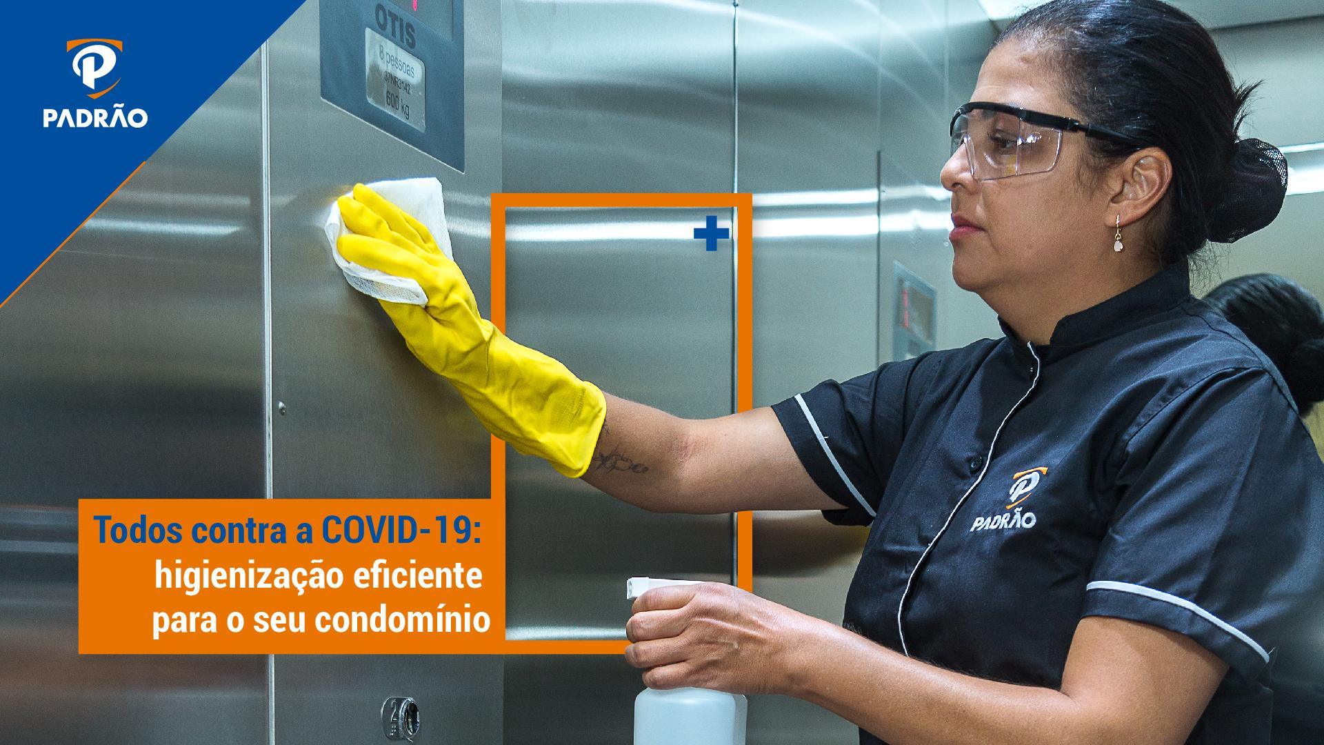 higienização de condomínio